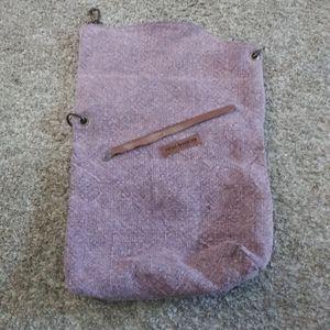 Vintage Addiction Jute Crossbody Bag Travel